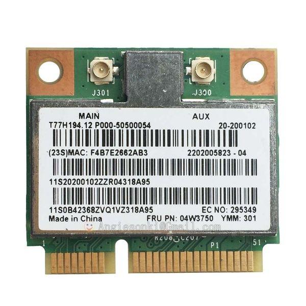 Wholesale- BCM94313HMG2L FRU:04W3750 Mini PCI-e 802.11 b/g/n Wireless WIFI Board Card for Lenovo B490 B490S B590 B590S B575E G400 G500 S400
