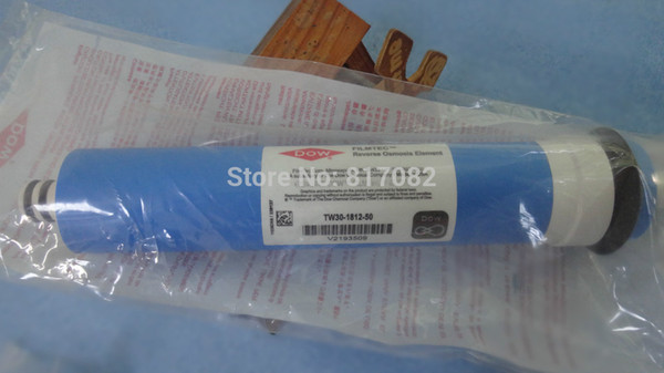 best selling On sale DOW FILMTEC 50 gpd reverse osmosis membrane TW30-1812-50 for water filter