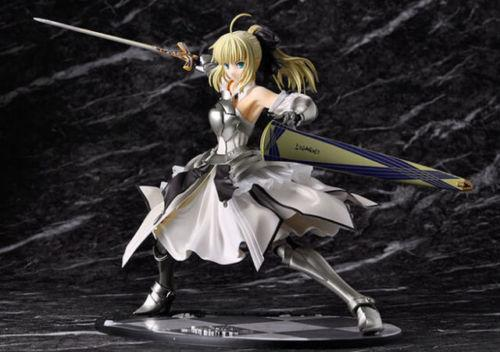 Anime Fate Stay Night Saber Lily Distant Avalon 1/7 Scale PVC figure Toy in box