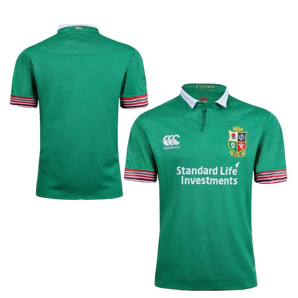 Ireland British Rugby Jersey Irish Lions euro Rugby Jersey home red away  ball white   blue Men rugby shirts size S - 3XL 018e7b506