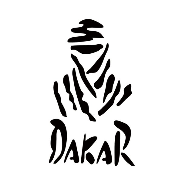 Funny Dakar Rally Personality Dhaka Waterproof Mini Vinyl Car Sticker Decals Car Styling Decor JDM