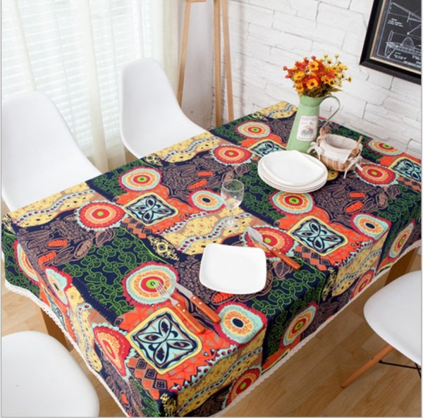 Party Table Cover Cloths Banquet Round Tablecloths Elegant Table Linen For  Hotel Restaurant Bar Tablecloth Cafe