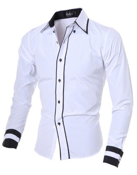 Weiße Hemdmänner