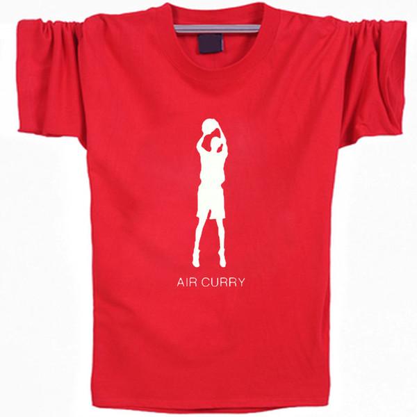 Stephen Curry T shirt All colors short sleeve Air star basketball casual tees Leisure clothing Elastic cotton Tshirt