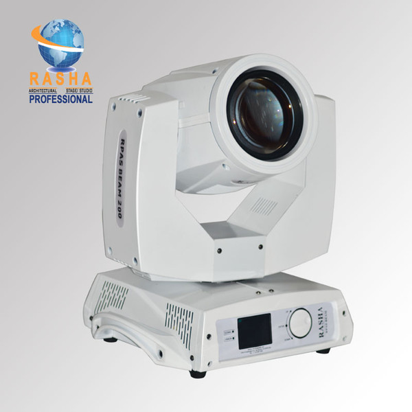 White Case High Quality 230W Sharpy Moving Head Beam Light 20CH 7R Stage Moving Head Light