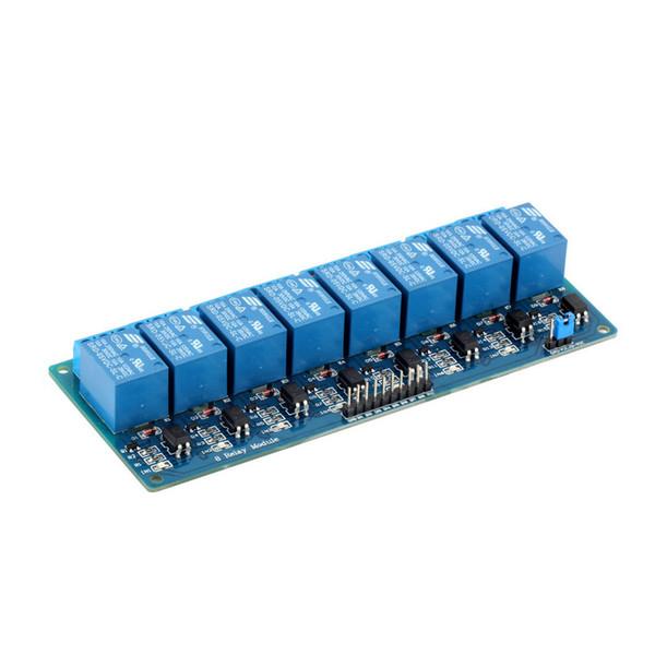 5V Eight 8 Channel Relay Module con fotoaccoppiatore Per Arduino PIC AVR DSP ARM Qualità Disponibile