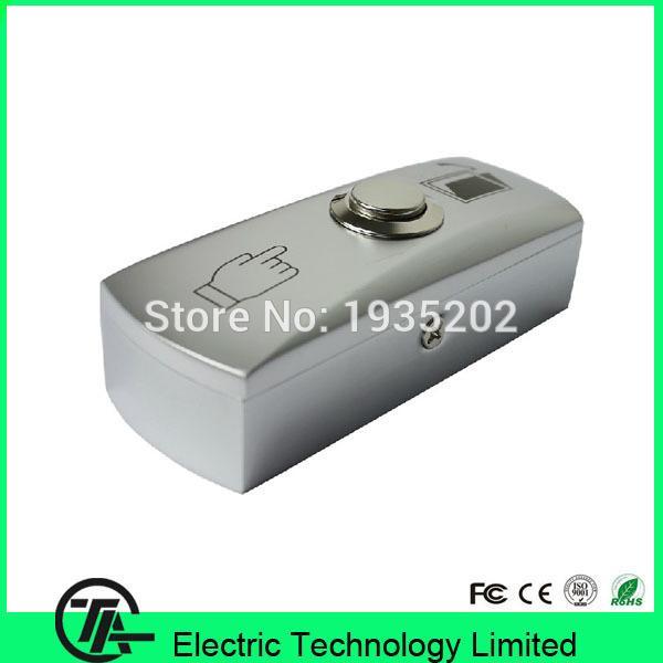 Großhandel-Metall-Schalter Edelstahl Ausgangstaste E02 Push-Release-Schalter für Zugangskontrolle Türausgangsschalter