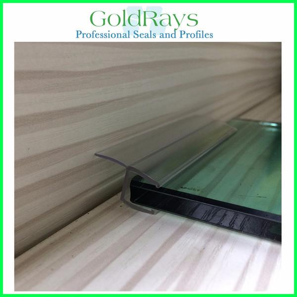 New material shower enclosure rubber seals for sliding door