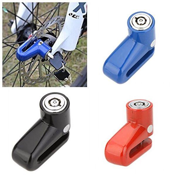 top popular Anti-Theft Safety Security Motorcycle Bicycle Lock Steel Mountain Road MTB Bike Cycling Rotor Disc Brake Wheel Lock 2021