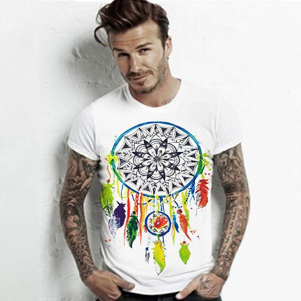 Wholesale- European t shirt for men Summer 2016 Vibe With Me Print Punk Rock Fashion Graphic Tees Women Designer Clothing