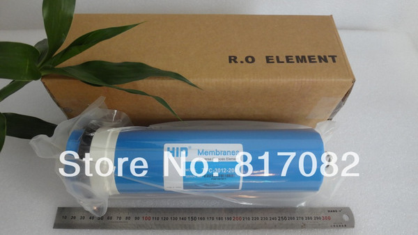 top popular 200 gpd Reverse Osmosis Membrane TFC-3012-200 RO Membrane Large Flow Reverse Osmosis Water Filter System Water Cleaner 2021