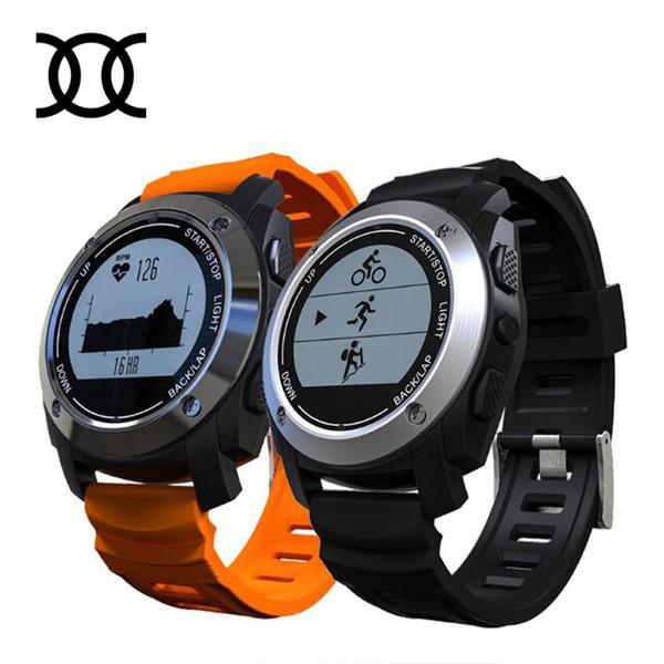 Wholesale- 2017 S928 Smart-Uhr-Puls-Tracker Temperatur messen Sport GPS Climb Run Fahrt Berechnung Fitness Tracker Smartwatch