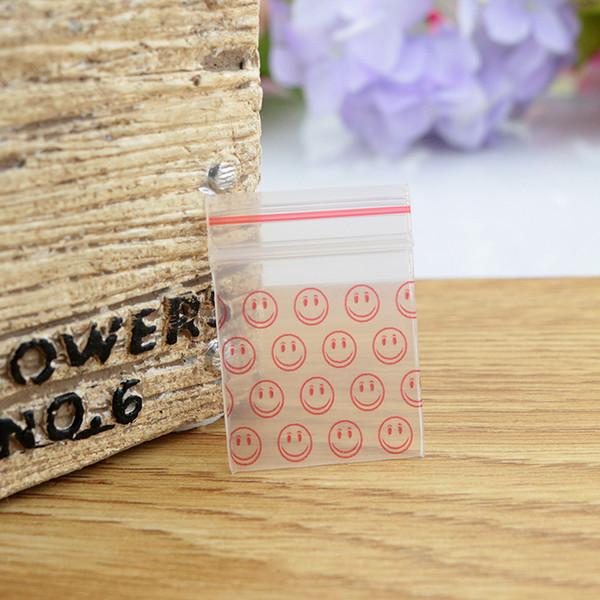 Wholesale-Hot Sale 300pcs/lot Self Sealing Mini Plastic Zip Lock Bag 3.5x5cm Thick Clear Ziplock Earrings Jewelry Packaging Bags