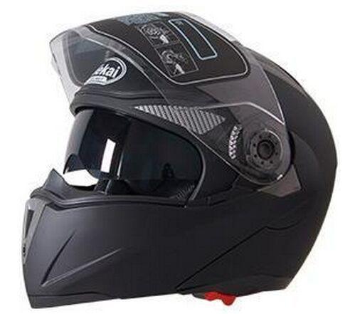 Wholesale- NEW Genuine JIEKAI motorcycle helmets dual lens visors flip up motocross helmets warm windproof sand dust proof casco capacete