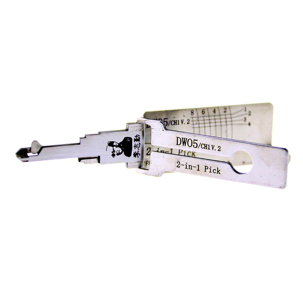 Lishi Key Reader auto tools DWO5/CH1 V.2 lock pick and decoder/car key decoder/locksmith tool for Chevrolet Epica