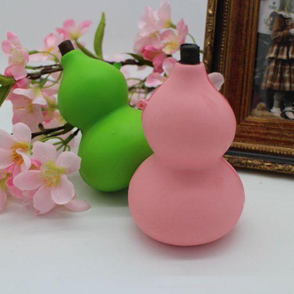 New 10pcs Solw Rising Squishy Toys Fruit gourd Squishy Jumbo 10S queeze Toy Phone Charm Soft Squishies Food Toys
