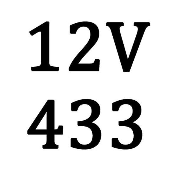 12V 433