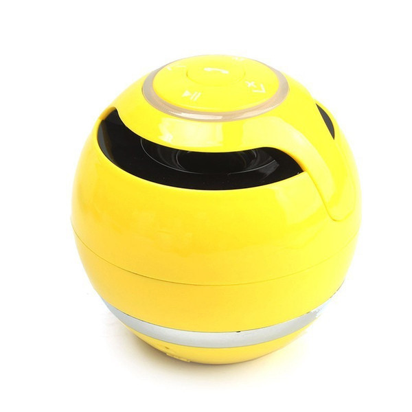 YST-175 Mini colorful Ball Portable Bluetooth Wireless speakers Super Bass Stereo Handsfree subwoofer Mic TF Card LED Light Freeshipping
