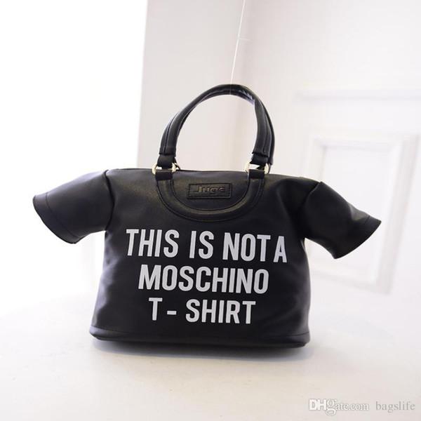 New arrival fa hion brand de igner print houlder bag women jacket handbag backpack t hirt haped me enger bag young giil