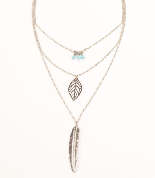 Charm Jewelry Multilayer Choker Chunky Statement Bib Pendant Chain Necklace