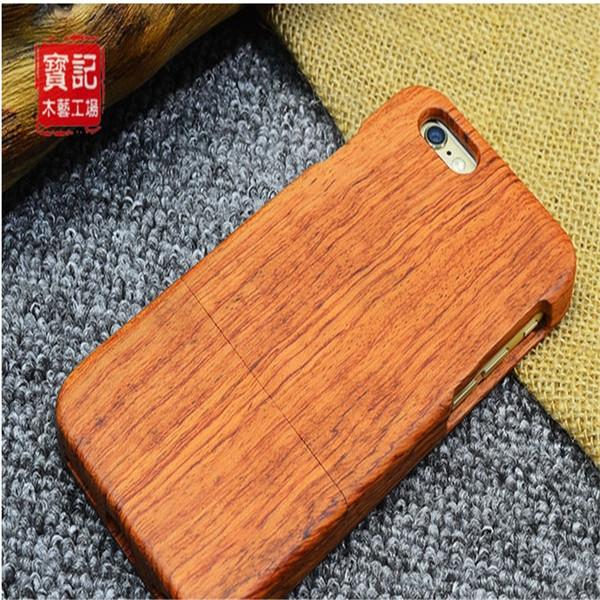 2017 venda quente de madeira Sólida shell telefone madeira original esculpida proteção do telefone de madeira estilo Chinês Uma variedade de opções de design