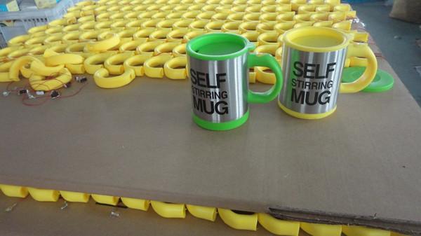 400 ML Self Stirring Mugs À Café Double Isolé Automatique Électrique Tasses à Café Tasses Intelligentes Tasse à Café de Mélange