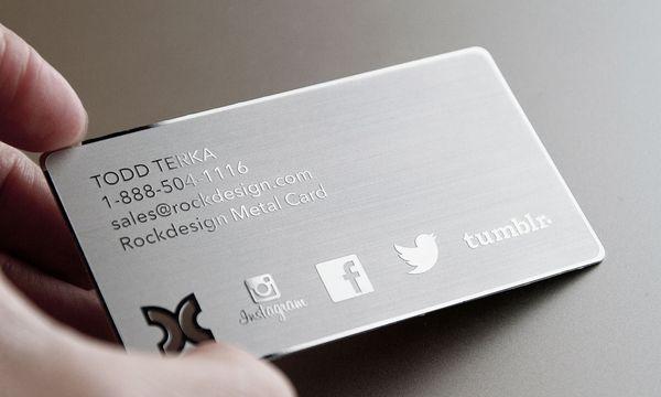 Großhandel Edelstahl Exklusive Karten Silber Metall Karte Visitenkarte Beste Qualität Karten Versandkostenfrei Von Csprinting 433 21 Auf