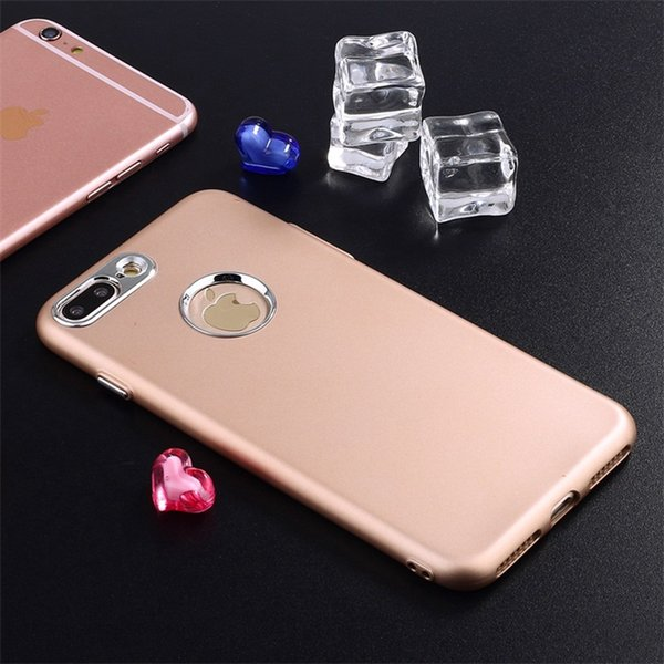 For iPhone 7 Plus 7Plus American Hot Sale Case Shockproof Shell Matte TPU + Metal Key Cover Luxury Phone Bag For iPhone 6s Plus