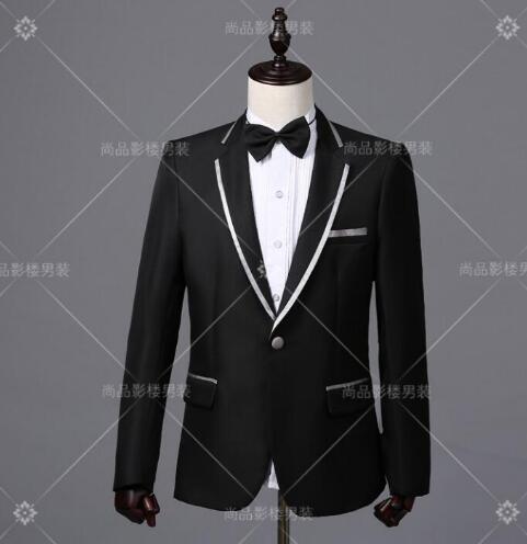 Blazer men formal dress latest coat pant designs suit men costume homme terno trouser marriage wedding suits for men's black