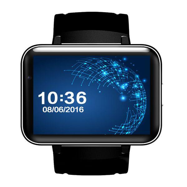 New Smart Watch Phone DM98 Android 4.4 OS MTK6572 Dual Core Bluetooth Smartwatch Fitness Tracker Nano SIM Wifi Heart Rate GPS