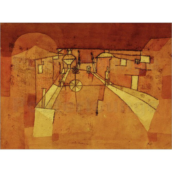 Modern art Road in the Camp Paul Klee oil paintings Reproduction High quality hand-painted home decor