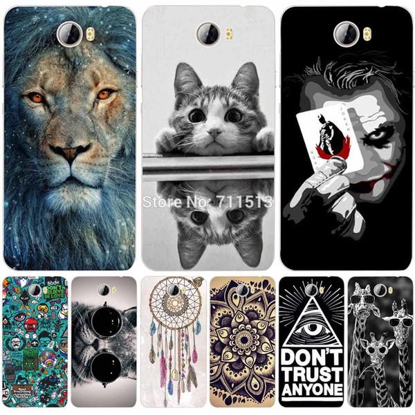 "Wholesale- 5.0"" Huawei Y5ii CUN-U29 CUN-L21 Y5 ii 2 CUN U29 L21 Phone Cases Silicone Back Cover For Huawei Y5ii Y 5 II CUN-U29 L21 L01 case"
