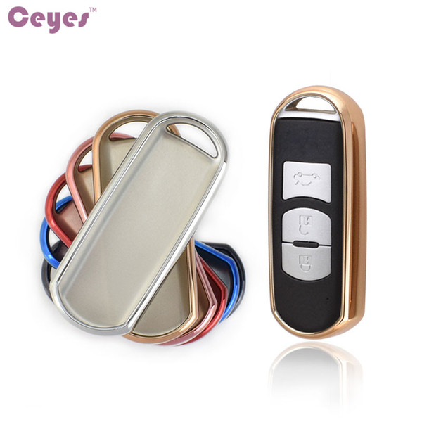 Auto TPU Key Shell Cover for Mazda 3 6 CX-3 CX-5 CX-7 CX-9 MX-5 Key Shell Remote Cover Car Accessories Styling
