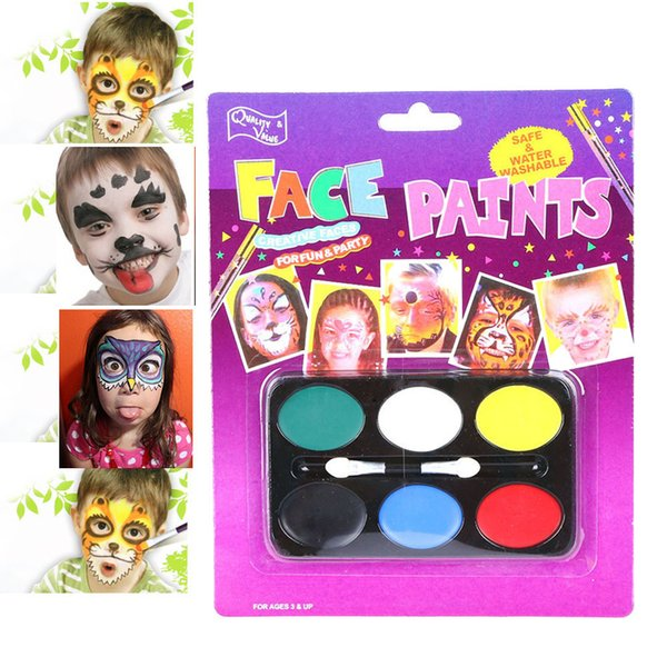 2019 Body Paint Lovely Children Festival Face Painting Craft Face Deco Kids Party Makeup Best Gift For Children From Sex Lady 0 81 Dhgate Com