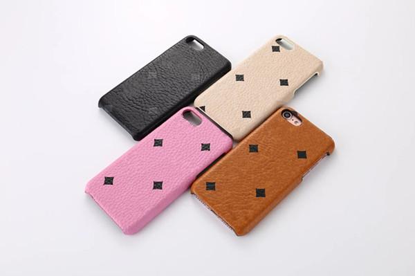 Etui en cuir de luxe M Fashion pour Apple iPhone 7 4.7