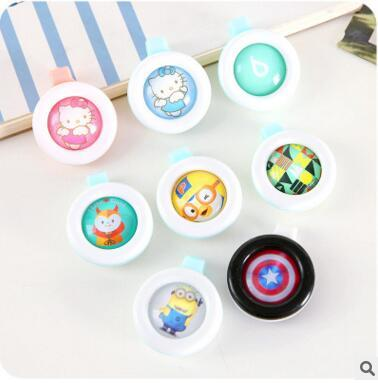 top popular New Baby Pregnant Anti-mosquito Button Cute Animal Cartoon Mosquito Repellent Clip Buckle Non-toxic Mosquito Repellent Buckle Pest Control 2019