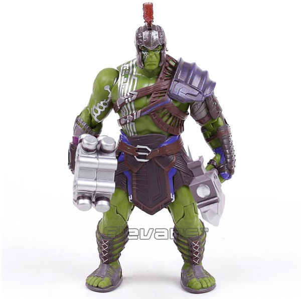 Thor 3 Ragnarok Hulk Robert Bruce Banner PVC Action Figure Collectible Model Toy 20cm Free Shipping