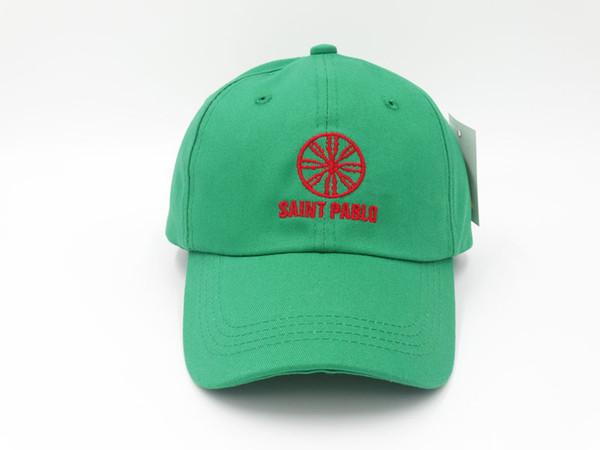 Kanye West Saint Pablo Mütze World Tour-Merch-Dad Hut Stickerei Snapback Knochen Sommer Baseball Caps einstellbar Sonnenhut Golf Caps ich fühle mich wie