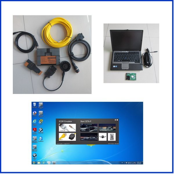 per laptop BMW ICOM A2 Software icom A2 B C top-rated v2017.05 hdd D630 Laptop per bmw Programmazione diagnostica