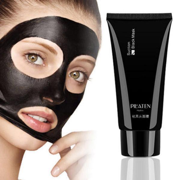 In Stock PILATEN Face Care Suction Black Mask Facial Mask Nose Blackhead Remover Peeling Peel Off Black Head Acne Treatment 60g