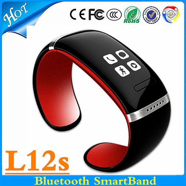L12s Smart Watch Smartband Bluetooth Healthy Bracelet Clock/Caller ID/alarm/Pedometer Sleep Monitor for IOS Android Samsung S7 edge