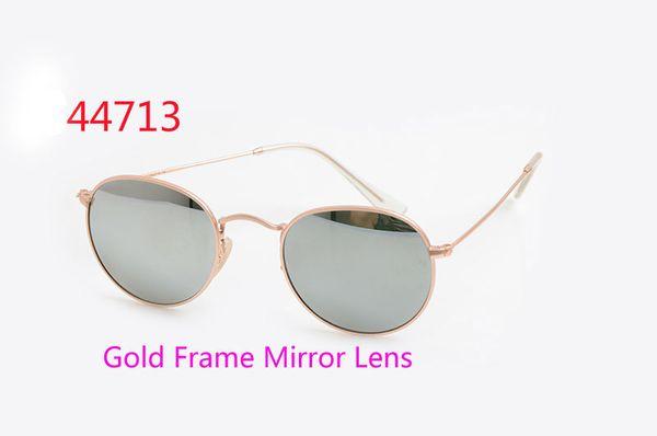 Gold Frame specchio Lens