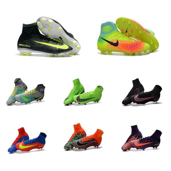 designer football boots wilw  2017 Hot Sale Mens Outdoor CR7 Mercurial EA SPORTS Superfly FG Soccer Shoes  Magista Obra 2