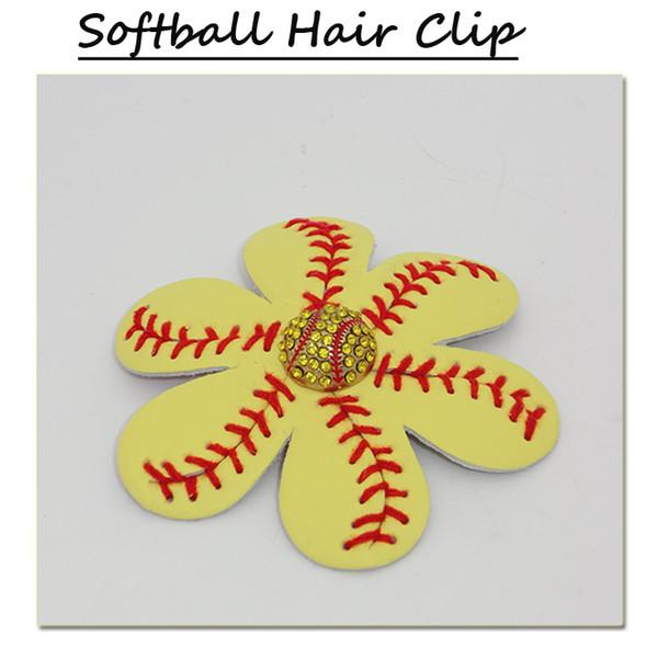softball jaune