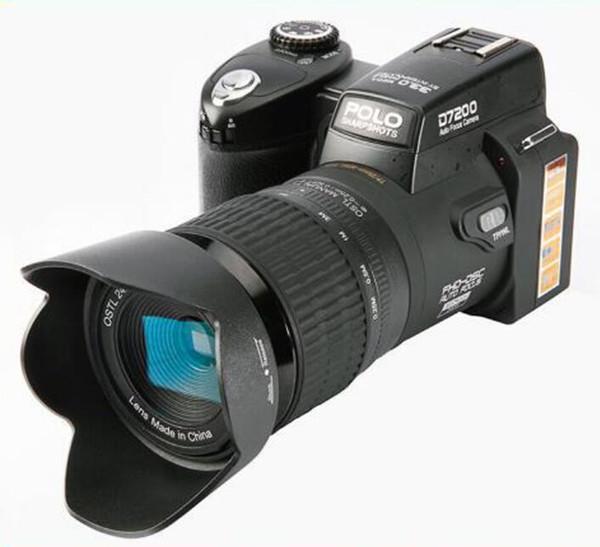 New high quality PROTAX POLO D7100 digital camera 33MP FULL HD1080P 24X optical zoom Auto Focus Professional Camcorder 1pcs DHL