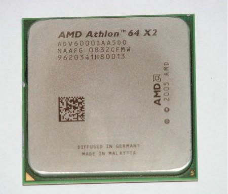 CPU AMD Athlon 64 X2 6000+ con processore 3.1GHz CPU dual-core