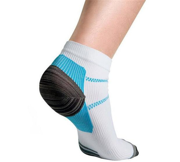 best selling 1pair=2pcs Veins Socks Compression Socks For Plantar Fasciitis Heel Spurs Pain Fashion Summer Ankle Mens Sports Socks M005