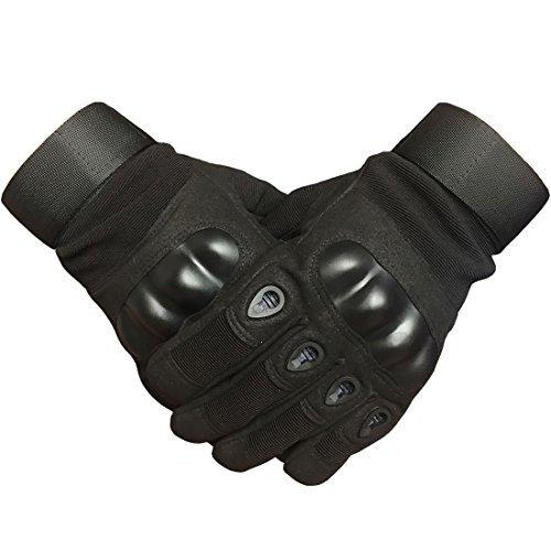 Military Hard Knuckle Tactical Touch Screen Black Glove Full Finger Army Airsoft Sport Shooting Paintball Hunting Riding Motorcycle Glove