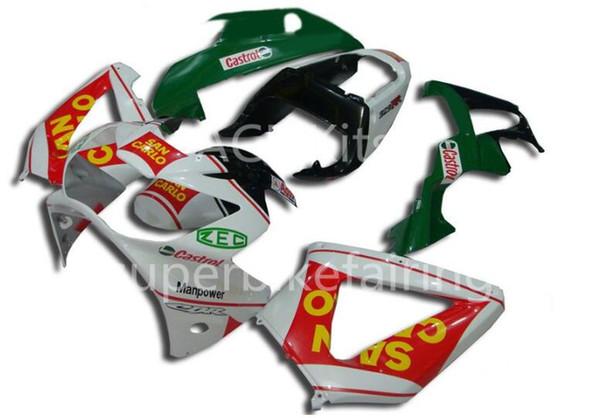 3 regalos gratis Kit de carenado de motocicleta Para HONDA CBR900RR 00 01 CBR 900RR 929 2000 2001 ABS Carenados conjunto Rojo Verde Blanco AF3