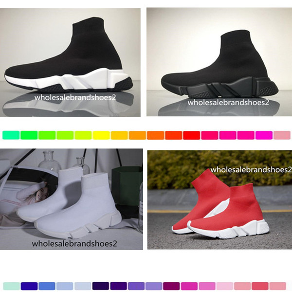 2017 Brand Speed Sock Sneakers Stretch Mesh High Top Sneaker for men and women Fashion Lightweight Breathable Casual Sports Shoes clearance best prices gD4Ox